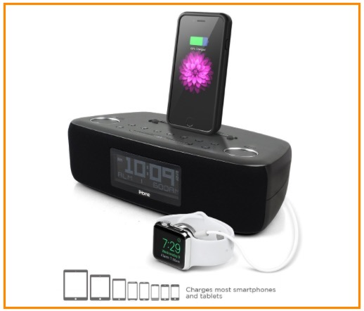 iHome speaker docking station for iPhone 6 and 6 Plus