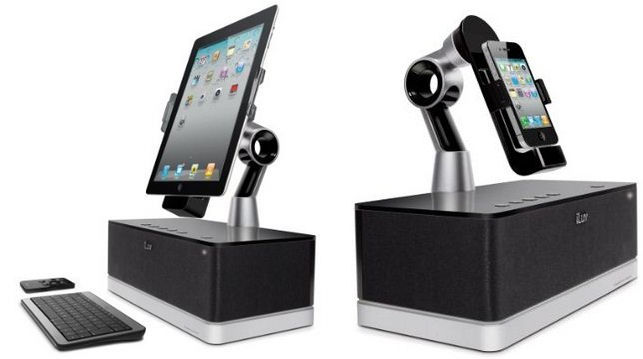 iLuv iPad dock for keyboard at home and office