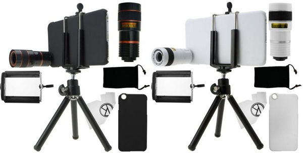 All in one iPhone photography kits and accessories for all