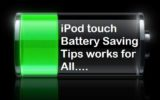 iPod touch Battery Saving and improvement tips on iOS 8/ iOS 7