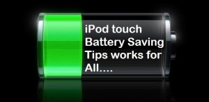 iPod touch Battery improvement tips [Solved]: iPhone on iOS 8/ 7