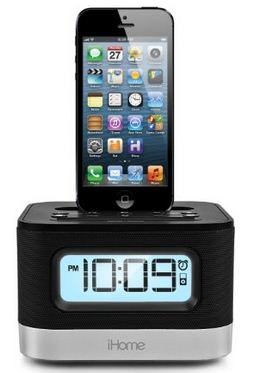 iHome Charging Dock with Speaker for iPhone 6 and iPhone 6 plus