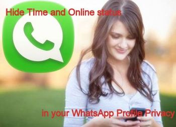 Set WhatsApp iPhone privacy for last seen and online status