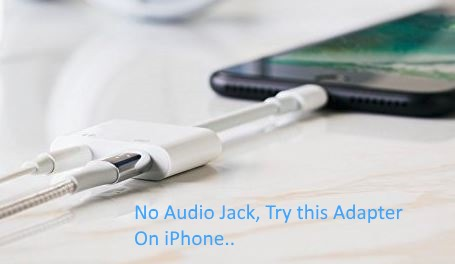 1 Adpater for Non Audio jack iPhone model