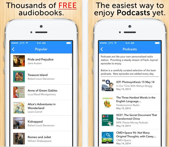 Best audiobooks app for iPhone - Audiobooks app for iPhone, iPad