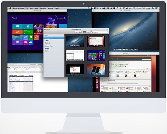 Best software for Access remote dakstop on Mac yosemite