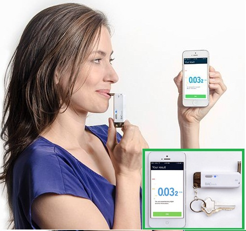 Best Breathalyzer compatible with iPhone and iPad