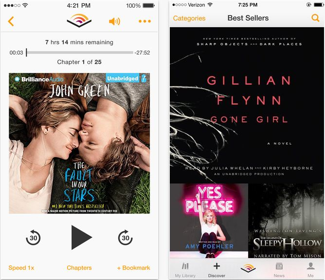audiobook player for iphone