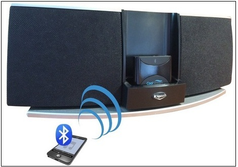 rechargeable Bluetooth receiver for iPhone