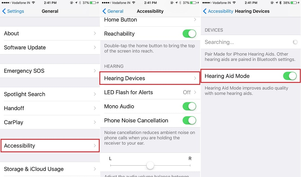 2 increase earpiece Volume on iPhone