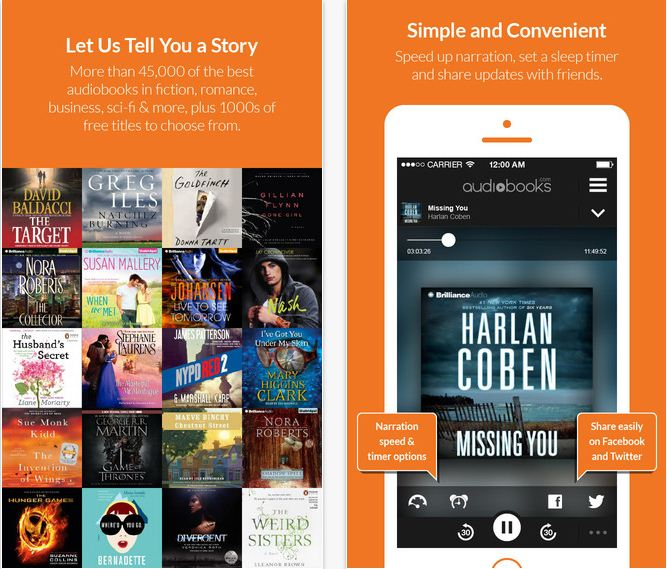 Best audiobooks app for iPhone, iPad