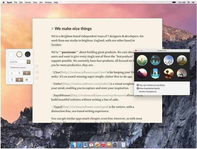 Text editor app for Mac yosemite