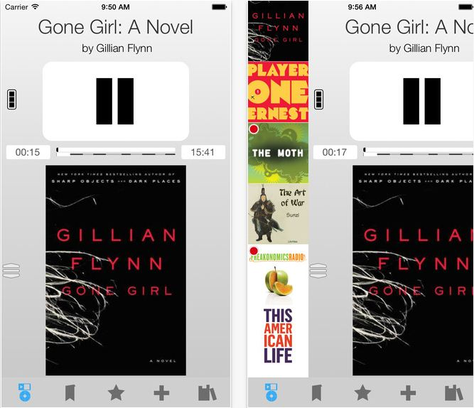 iOS app for audiobooks app in free