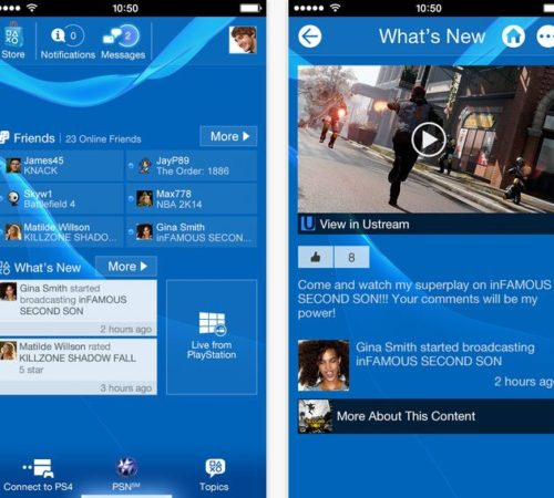 PS4 - PlayStation gaming notification for iPhone