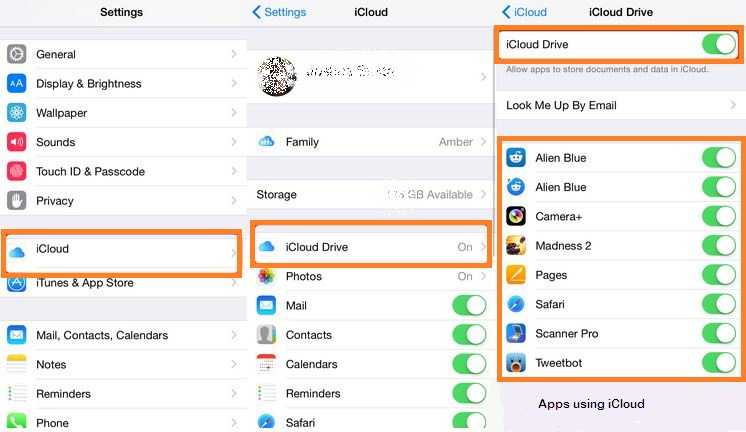 how to enable a disabled iphone enable or disable apps use icloud on your iphone ios 18774