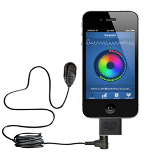 HVR monitor small system for iPhone user