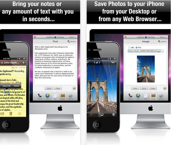 Send iPhone text from Mac, Windows and Linux