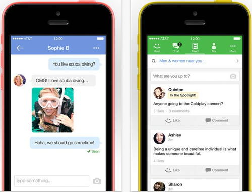 Meetme iPhone, iPad and iPod touch apps for live chatting
