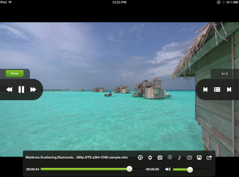 Best free HD player for iPad