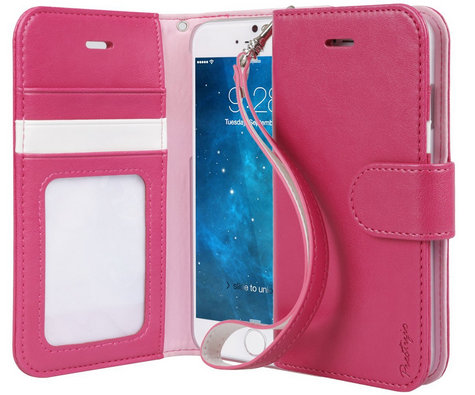 Fancy leather case for iPhone 6