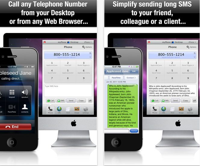 Make call from iPhone using Mac