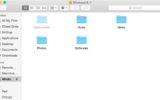 Display hidden folder on Mac OS X yosemite