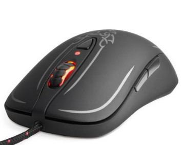 Steel series multiple control gaming mouse