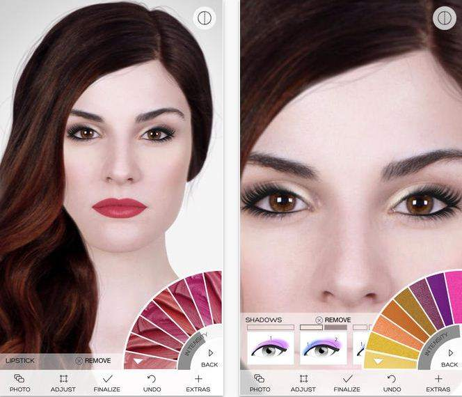 Virtual MakeOver for Makeup and skin treatment