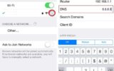 how to change default DNS Server settings on iPhone and iPad