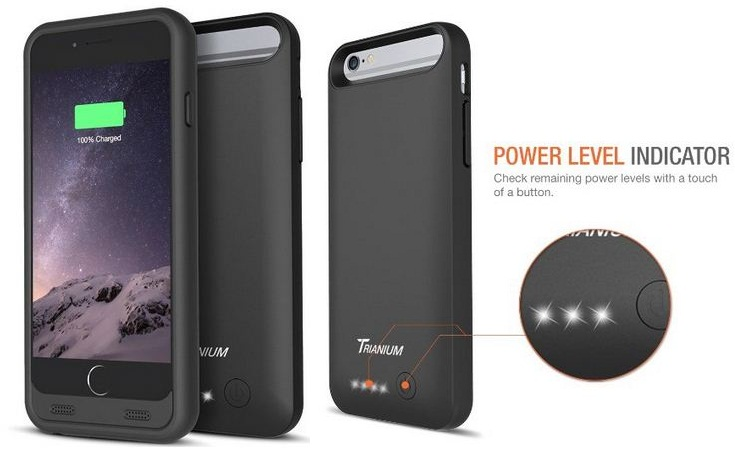 case for iPhone 6 with battery backup