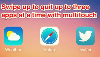 how to kill unresponsive iOS app