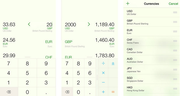best Currency Converter apps for iPhone, iPad