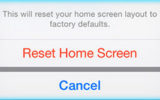 Awesome tip for reset home screen layout on iPhone