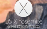 Cool Mac OS X Yosemite shortcut and best tips and tricks 2015