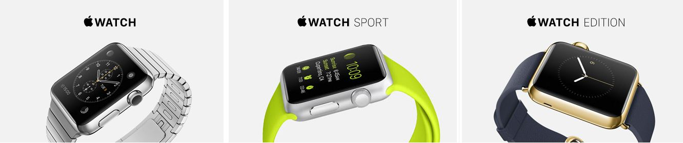 Top model Category of Apple Watch 2015