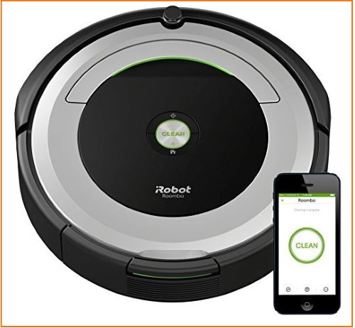 1 iRobot Vacuum Cleaner for iPhone controlled