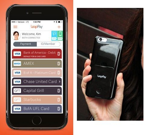Apple pay and loopPay for iPhone, Android Mobile