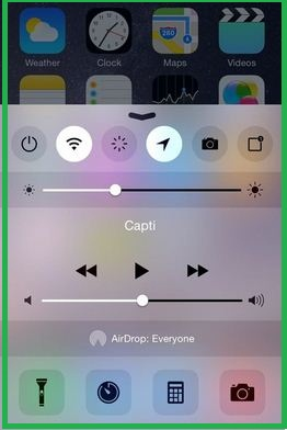Custome control center tweeks