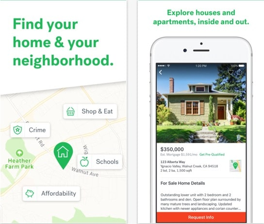 6 Trulia iPhone Real Estate app