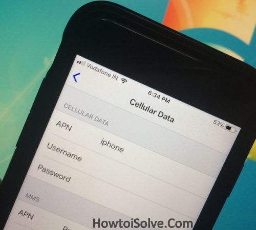 How to Add APN Settings On iPhone: Cellular Data Network iOS
