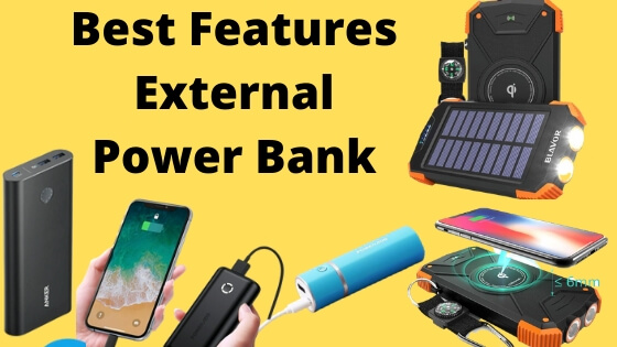 Best Features External Power Bank for iPhone and iPad and MacBook