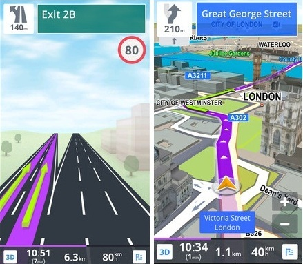 Best Navigation iPhone app for UK, USA, Australia