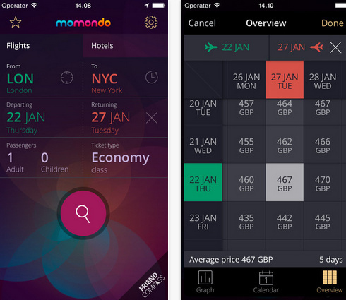 Best iPhone apps to book cheap Air flights 2015