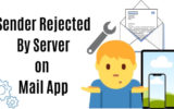 Sender Rejected By Server on iPhone_iPad