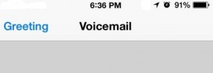 How to Set up Voicemail on iPhone X/ 8 Plus/ 7 Plus/ 6S Plus/ SE/ 5S