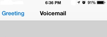 Activation Step of Set up Voicemail on iPhone 6 Verizon