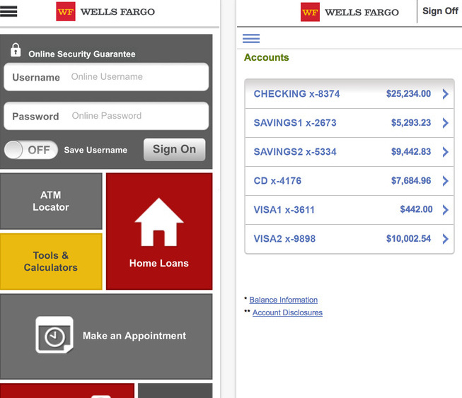 How to check deposit in Wells Fargo on iPhone