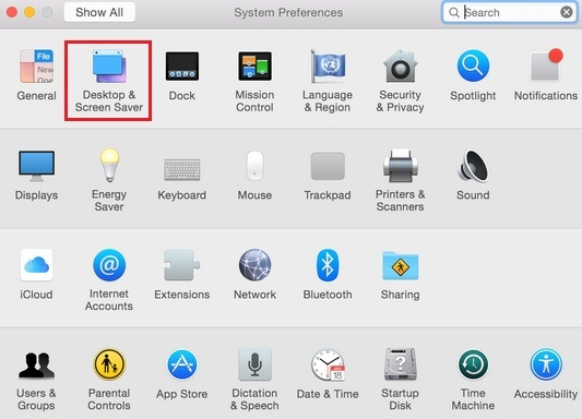 active hot corners on Mac OS X Yosemite how to