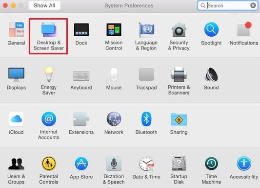 активные горячие углы в Mac OS X Yosemite как