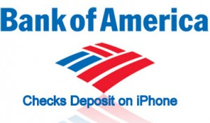 How to Mobile Deposit Checks Bank of America on iPhone app